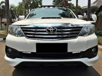 Toyota Fortuner G VNT 2014 Upgrade TRD Istimewa Service Record