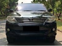 Toyota Fortuner G Lux AT 2013 Bensin Istimewa KM low