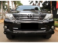 Toyota Fortuner G VNT 2014 Hitam KM Low Service Record