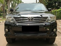 Toyota Fortuner G Lux Bensin 2011 New Model Istimewa Full Record
